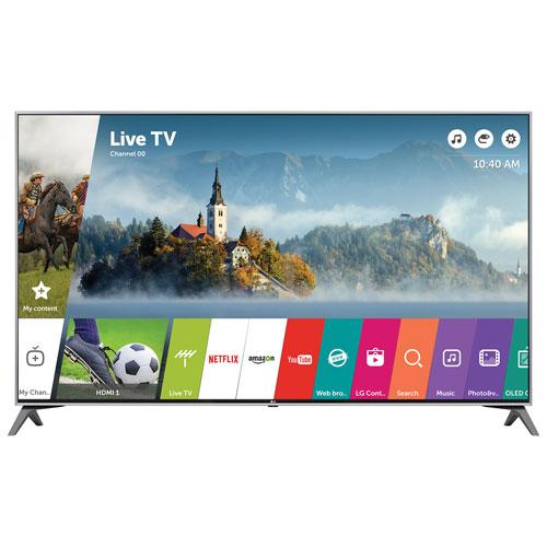 lg 55 4k uhd hdr led webos 3 5 smart tv 55uj7700 53 59 inch tvs best buy canada. Black Bedroom Furniture Sets. Home Design Ideas