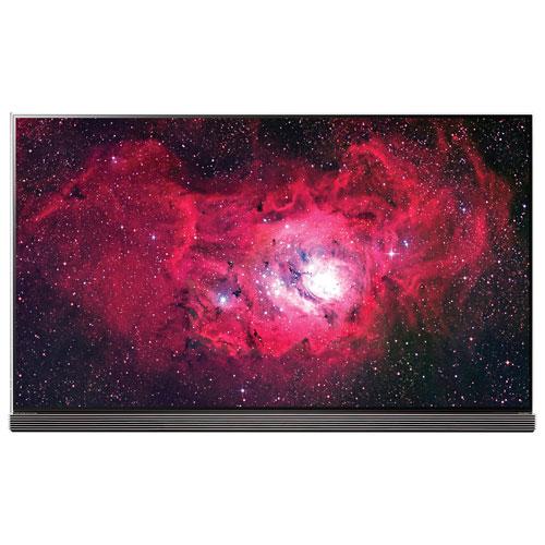 Téléviseur intelligent webOS 3.5 HDR DELO UHD 4K de 77 po G7 Signature de LG (OLED77G7P)