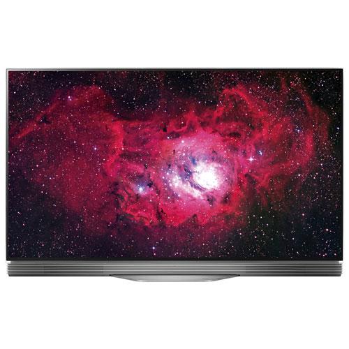 Téléviseur intelligent webOS 3.5 HDR DELO UHD 4K de 55 po E7 de LG (OLED55E7P)