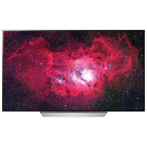 Téléviseur intelligent WebOS 3.5 HDR DELO UHDa 4K de 55 po C7, LG (OLED55C7P) - Exclusivité Best Buy