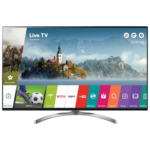 "LG 75"" 4K UHD HDR LED webOS 3.5 Smart TV (75SJ8570) - Silver"