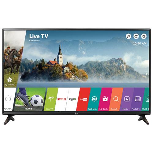 Téléviseur intelligent DEL HD 1080p webOS 3.5 de 55 po de LG (55LJ5500) - Noir