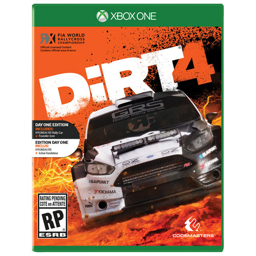 DiRT 4 Day 1 Edition (Xbox One)
