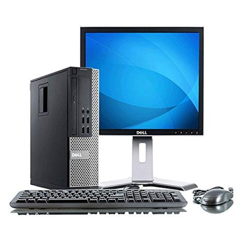 "Dell Optiplex 7010 Intel i5-3470, 8GB Ram, 500GB Hard Drive, DVD, Windows 10 Pro, With 19"" Display, 1YW-Refurbished"