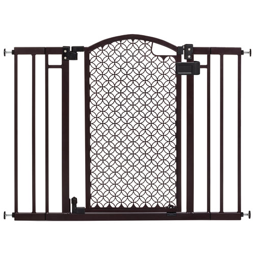 Summer Infant Modern Home Hardware Mounted Safety Gate Brown