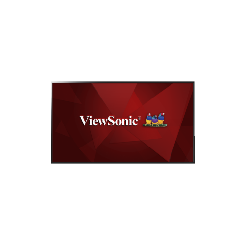 "ViewSonic 43"" FHD 60 Hz 6.5 ms GTG DLED Monitor - Black - (CDE4302)"