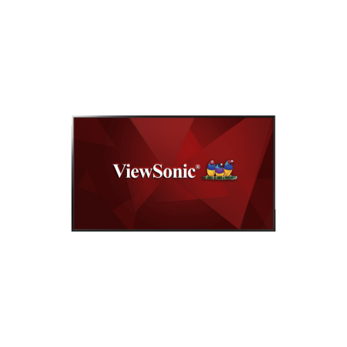"ViewSonic 55"" FHD 60 Hz 9 ms GTG DLED Commercial Display - Black - (CDE5502)"