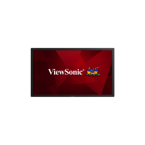 "ViewSonic 65"" FHD 60 Hz 8 ms GTG DLED Commercial Display - Black - (CDE6502)"