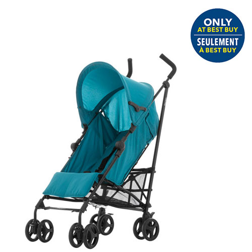 9512f7911752 guzzie+Guss Serien Lightweight Stroller - Aqua - Only at Best Buy ...