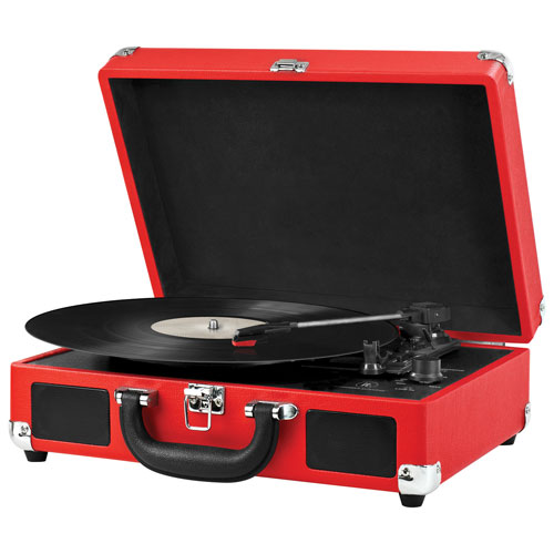 Innovative Technology 550BT Turntable - Red