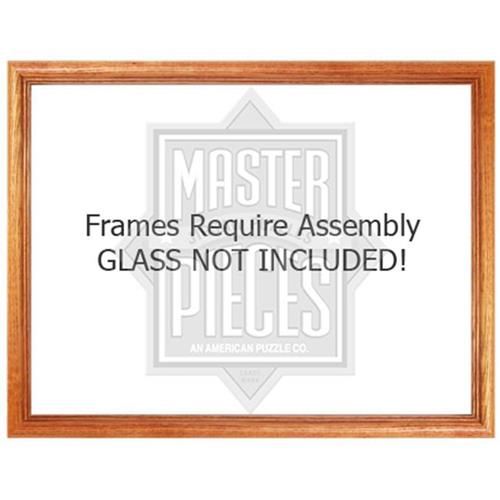Masterpieces 50402 19.25 x 26.75 Wood Frame Puzzle - 1000 Piece ...