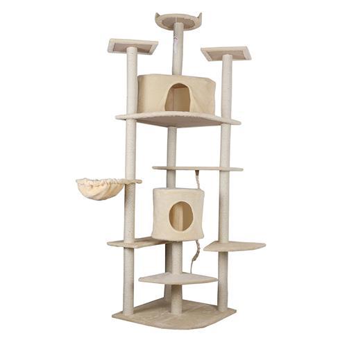 IPet 81 Inch Cat Tree Condo Furniture Cat Scratch Post Pet House, Beige :  Cat Scratchers U0026 Furniture   Best Buy Canada