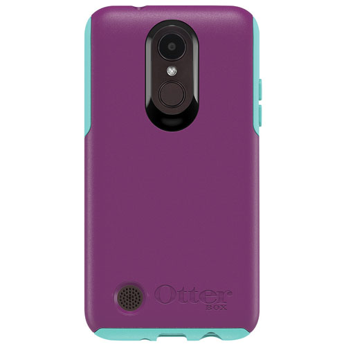 OtterBox Achiever Fitted Hard Shell Case for LG K4 - Plum/Aqua