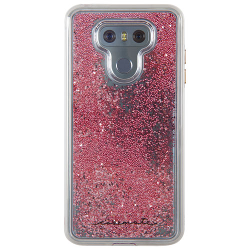 Case-Mate Waterfall Fitted Hard Shell Case for LG G6 - Rose Gold