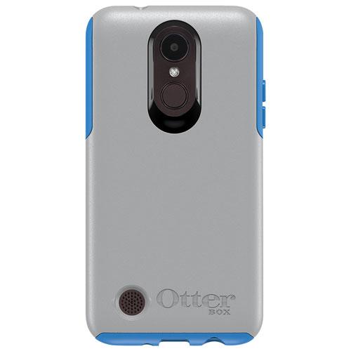 Étui rigide ajusté Achiever d'OtterBox pour K4 de LG - Gris-bleu