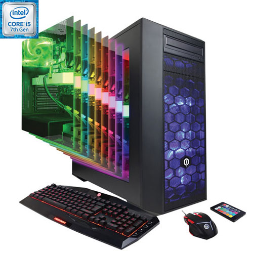CyberPowerPC Gamer Xtreme PC (Intel Core i5-7600/1TB HDD/8GB RAM/NVIDIA GeForce GTX 1060/Win 10)-Eng