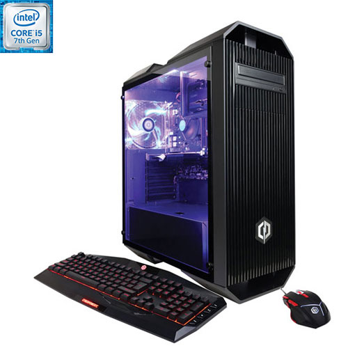 CyberPowerPC Gamer Xtreme PC (Intel Core i5-7600K/1TB HDD/8GB RAM/NVIDIA GeForce GT 730/Win 10) -Eng