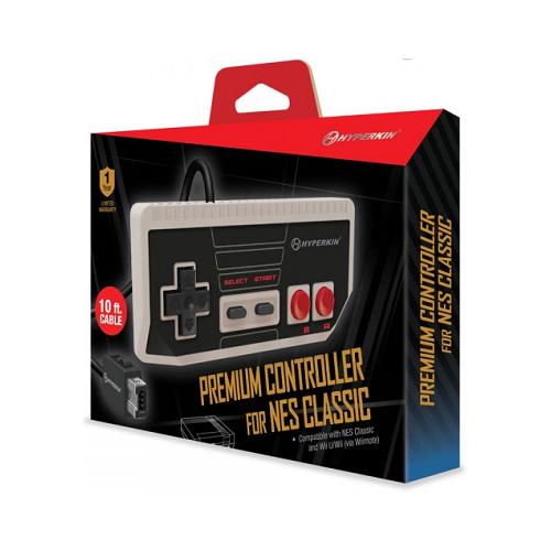 Premium Controller for NES Classic [Hyperkin] - NES CLASSIC / WII U / WII