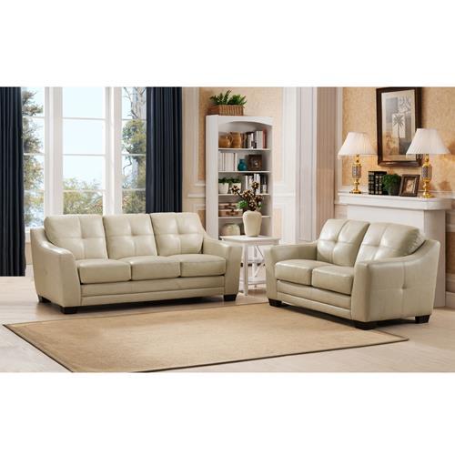 amax leather brando top grain leather sofa and - Top Grain Leather Sofa