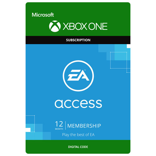 EA Access 12-Month Membership (Xbox One) - Digital Download : Xbox ...