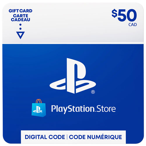 PlayStation Store $50 Gift Car...