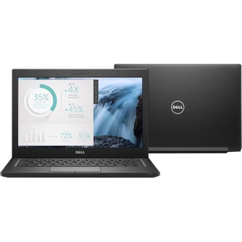 """Dell Latitude 7000 14"""" Laptop Black(Intel Core i7 / 256 GB / 8 GB DDR4 / Windows 10)"""