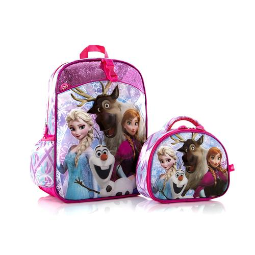 f934029c3d Disney Frozen Anna Elsa Olaf Svan Deluxe Classic Designed 15 Backpack with  Lunch Bag   Backpacks - Best Buy Canada