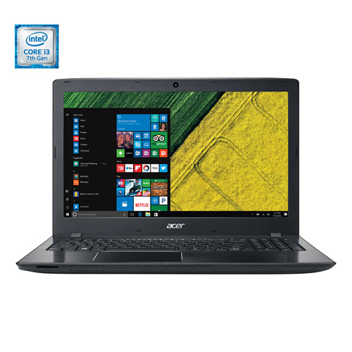"Acer Aspire E 15.6"" Laptop - Obsidian Black (Intel Core i3-7100U /1TB HDD /8GB RAM /Windows 10)"