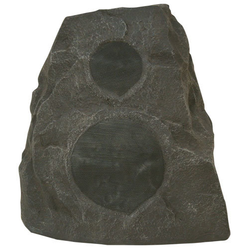 Klipsch AWR-650-SM 100-Watt Outdoor Rock Speaker - Granite - Single