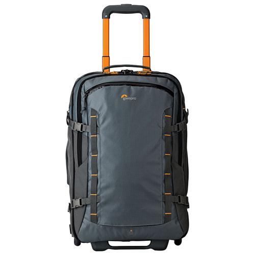 """Lowepro HighLine RL x400 AW 21.57"""" Soft Side 2-Wheeled Carry-on Luggage - Grey"""