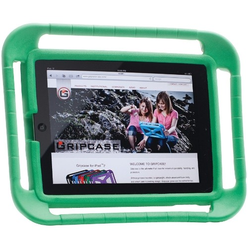 GRIPCASE FOR iPad 2, 3, 4 - GREEN
