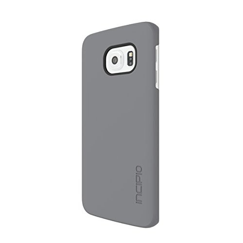 Incipio Feather Carrying Case for Samsung Galaxy S6 Edge, Retail Packaging, Gray