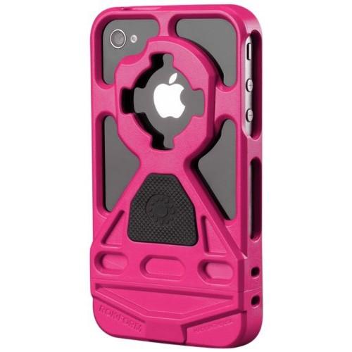 Rokform Rokbed V3 Case Kit for iPhone 4/4S, Pink