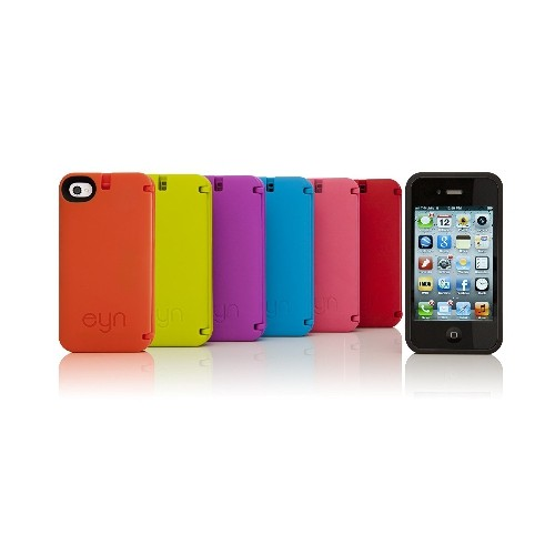 EYN Products (Everything You Need) Multifuctional Solution Based Protective Case for iPhone 4/4s - Turquoise