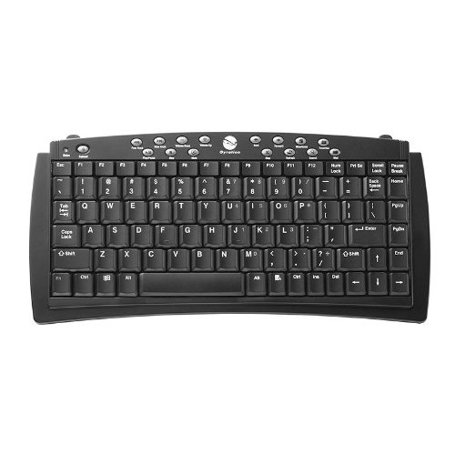 Gyration 100-Feet Wireless Keyboard Compact (GYAM-CSKB-NA)