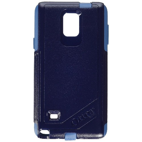 OtterBox Commuter Series Case for Samsung Galaxy Note 4 - Retail Packaging - Ink Blue (Admiral Blue/ Deep Water)
