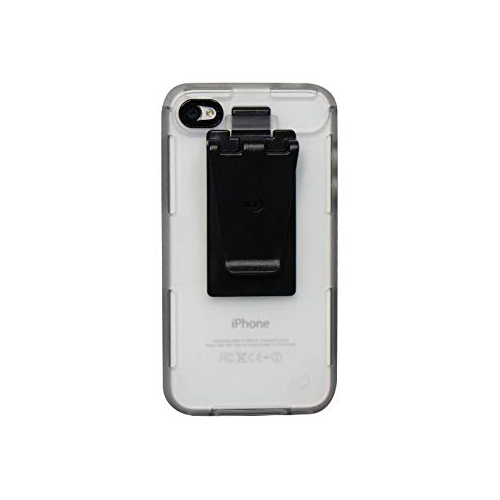 Nite Ize CNT-IP4-04TC Connect Case for iPhone 4/4S, 1-Pack, Retail Packaging, Clear Translucent