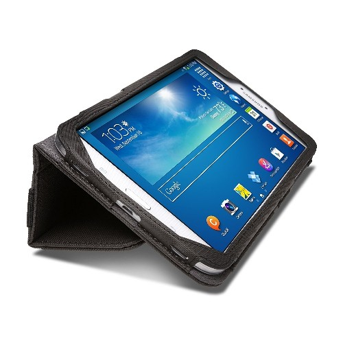 Kensington K97167WW Portafolio Soft Folio Case for 8-Inch Samsung Galaxy Tab 3, Slate Grey