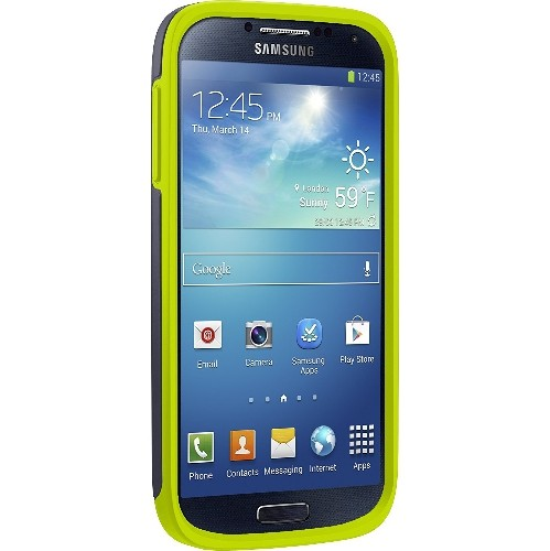 Otterbox Symmetry Series Case for Samsung Galaxy S4 - Retail Packaging - Lime Dream
