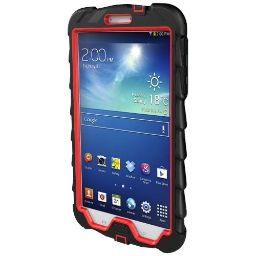 Gumdrop Cases for 8-Inch Samsung Galaxy Tab 3-Drop Series, Black/Red (DT8-SAM3-BLK-RED)