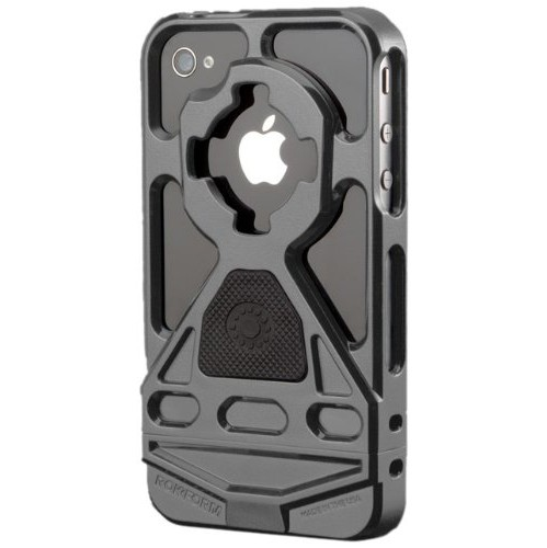 Rokform Rokbed V3 Case Kit for iPhone 4/4S, Gun Metal