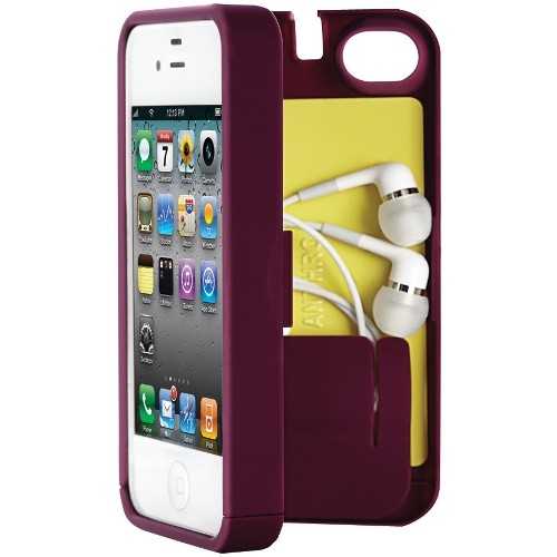 EYN Products (Everything You Need) iPhone 4/4s Multifunctional Protective Case - Syrah