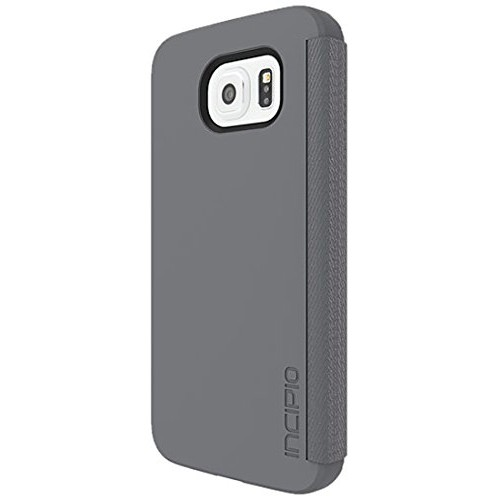 Incipio Lancaster Carrying Case for Samsung Galaxy S6, Retail Packaging, Gray