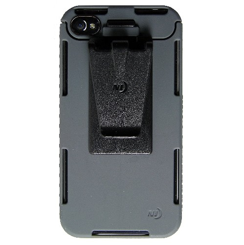 Nite Ize CNT-IP4-09SC Connect Case for iPhone 4/4S, 1-Pack, Retail Packaging, Grey