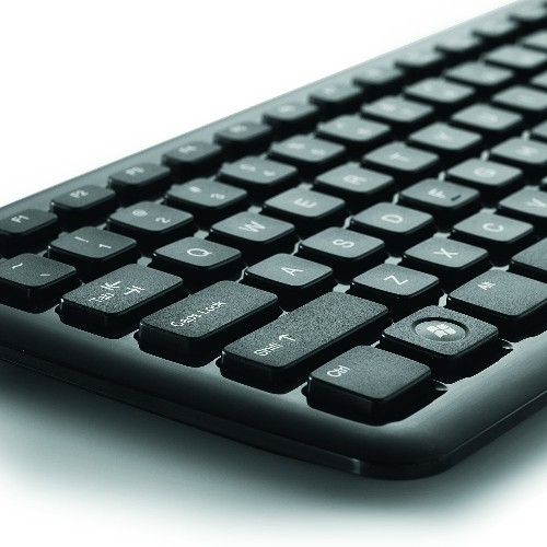 Verbatim Wireless Slim Keyboard and Mouse, Black 96983