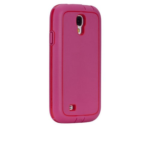 Case-Mate OLO026888 Tough Xtreme Case for Samsung Galaxy S4 - Carrying Case - Retail Packaging - Pink/Red