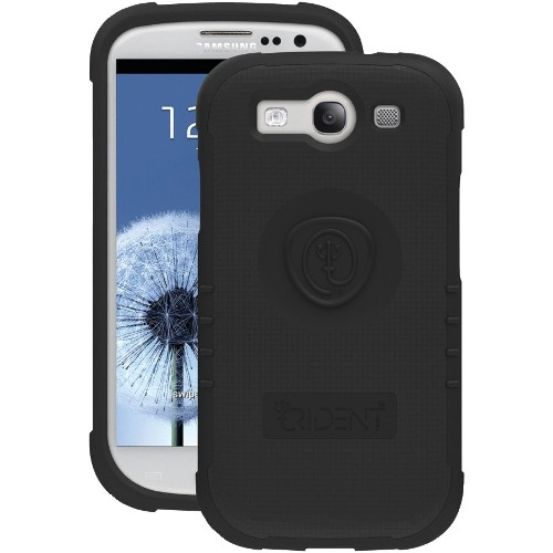 Trident Perseus Case for Samsung Galaxy S3 i9300 - Retail Packaging - Black