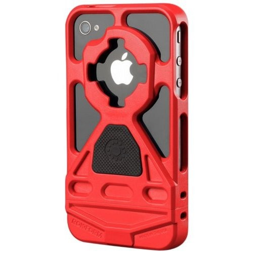 Rokform Rokbed V3 Case Kit for iPhone 4/4S, Red
