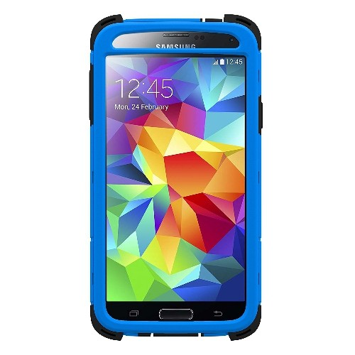 Trident Kraken AMS Series Case for Samsung Galaxy S5 - Retail Packaging - Blue