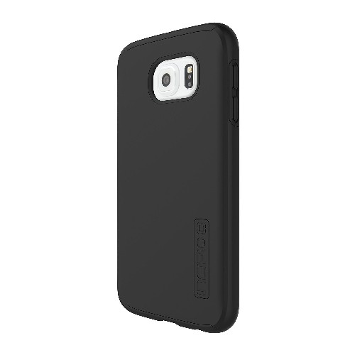 Incipio Dual Pro Carrying Case for Samsung Galaxy S6, Retail Packaging, Black/Black